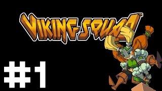 Viking Squad - Longboat Beatemup - Part 1 Let's Play Viking Squad