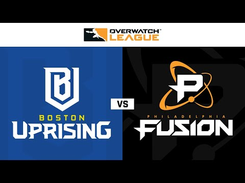 Philadelphia Fusion vs Boston Uprising vod