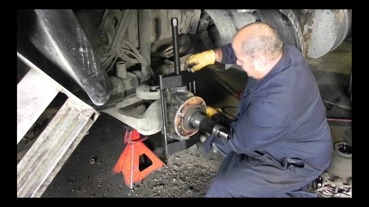 medium resolution of tiger tool 90150 heavy duty manual king pin press kingpin removal