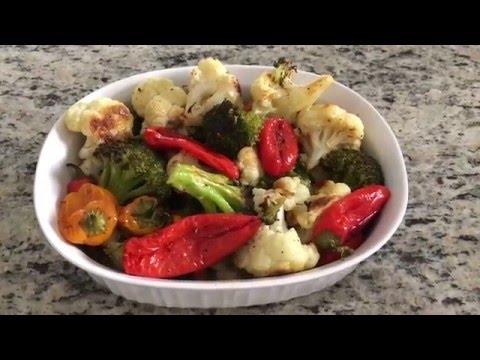 Как приготовить потрясающие овощи в духовке быстро и просто