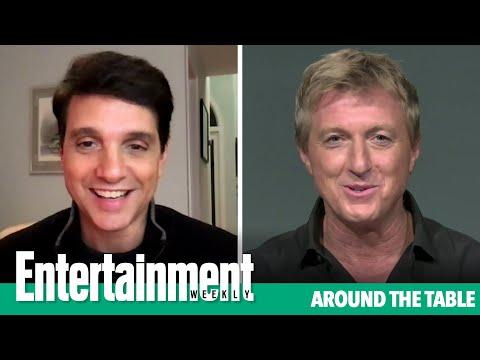 Ralph Macchio and William Zabka Discuss the Return of Elisabeth Shue   Entertainment Weekly