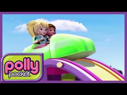 Polly Pocket em Português Brasil 💜Polly super pulante  - Compilação divertida 🌈Desenho infantil
