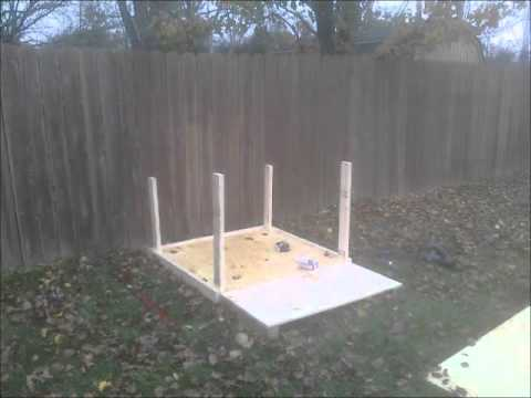 How To Build An Insulated Dog House Video