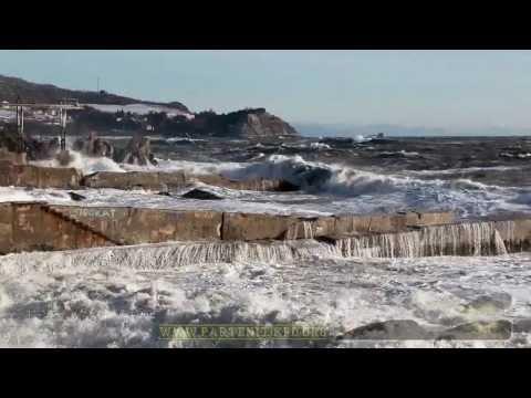Штормовая сюита. Шторм в Партените 8.02.2012
