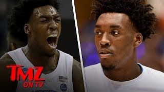 Top Draft Prospect Nassir Little Asked Silly Brainteaser | TMZ TV