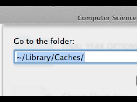 How To Delete/Clear Cache on Your Mac!