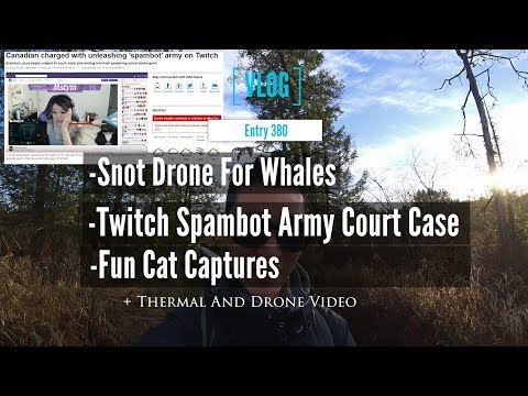 Snot Drone And Twitch Spambot Army In A Canada Court Case With A Fun Cat Capture Video
