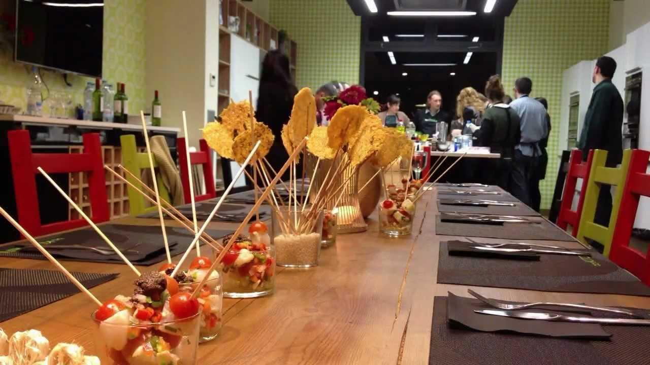 Cursos de cocina en barcelona tapas y pintxos creativos for Clases particulares de cocina