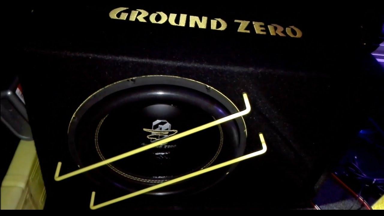 ground zero gzib 3000spl on 375w youtube. Black Bedroom Furniture Sets. Home Design Ideas