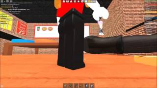 How to cook a customer on work at a pizza place [Roblox]