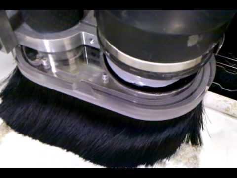 Torchmate router test with Splitshoe Vacuum Attachment - YouTube