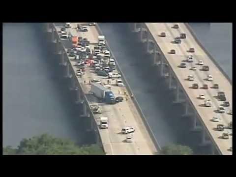 Raw video: Fatal crash on I-75 in Ellenton, Florida