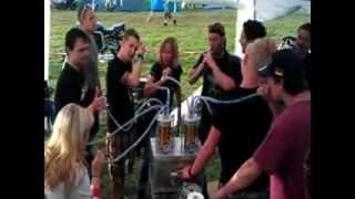 Dreisbach 2012 Bier-Bong Deluxe:-) Fehlversuch!!!!