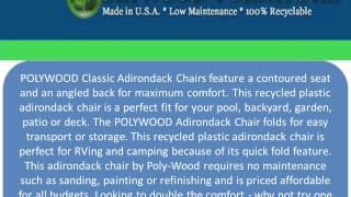 Polywood Furniture : 877-876-5996