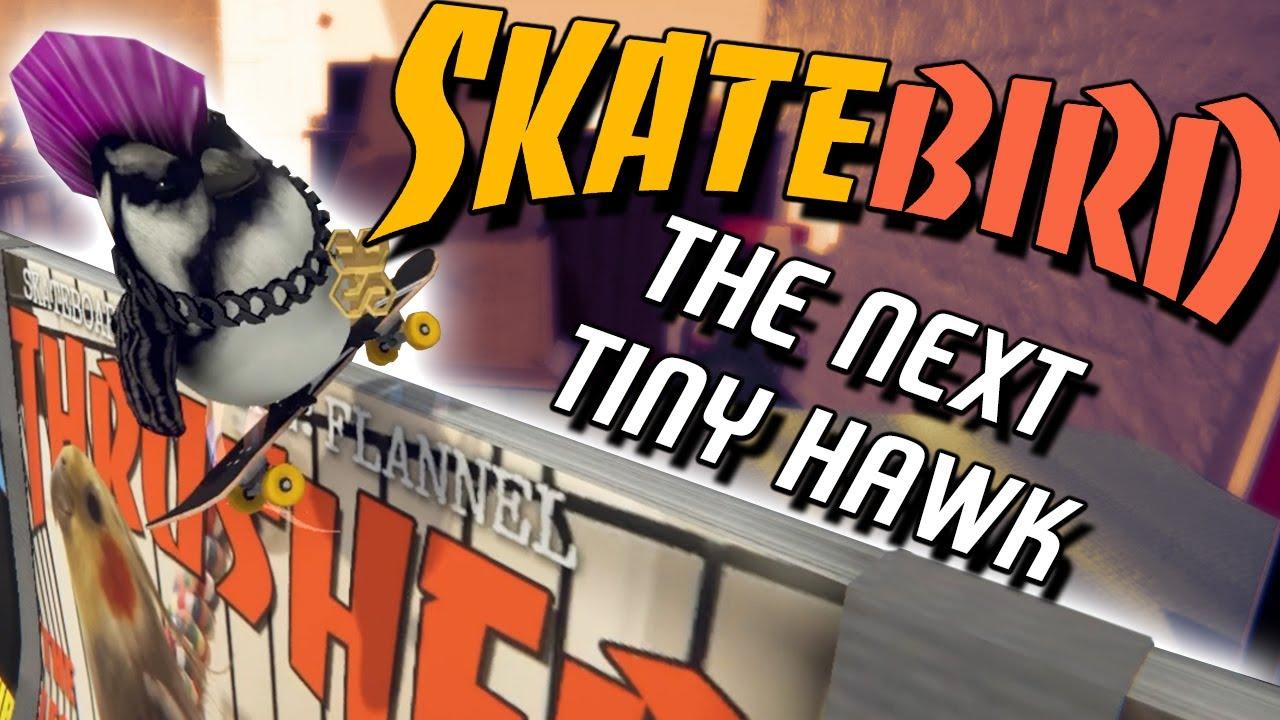 What If... Tony Hawk Was Actually a Bird?   SkateBIRD - First Impressions