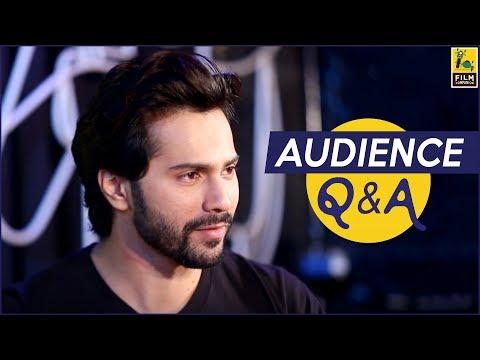 Varun Dhawan & David Dhawan | Judwaa 2 | Audience Questions