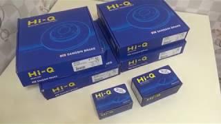 Тормозные диски и колодки Hi-Q Brake