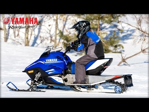 2018 Yamaha Youth Series Snowmobiles - YouTube
