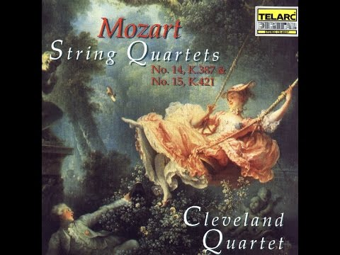 Cleveland Quartet - Mozart String Quartet #14 in G, K 387