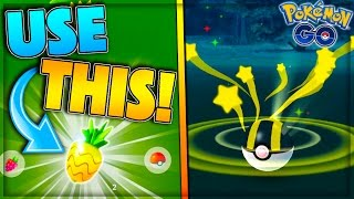 BEST NEW ITEM IN POKEMON GO! USE THIS! + HOW TO: NEW CRITICAL CATCH! Pokemon Go Generation 2 Farming