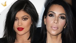 Kim Kardashian, Kylie Jenner Enjoy Lunch Date In Sexy Attires