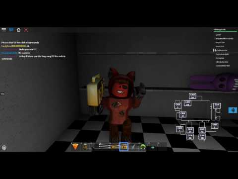The Foxy Song Code Roblox Youtube