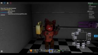 The foxy song code ROBLOX.