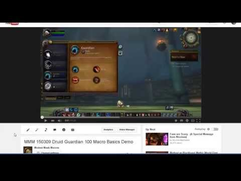 MMM 150318 Druid Guardian 91 Macro Install and Demo