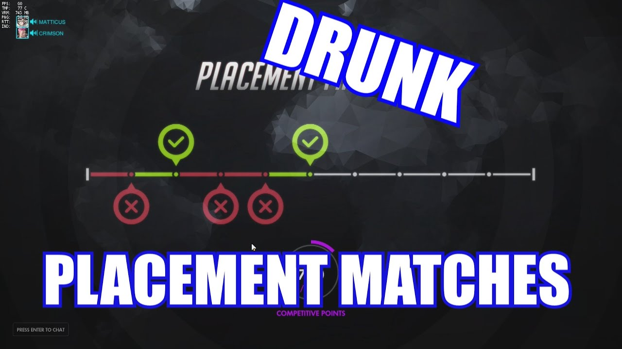 season 2 placement matches drunk overwatch live commentary youtube