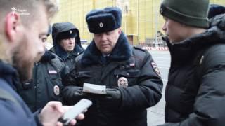 Задержания на пикете против дела  Кировлеса