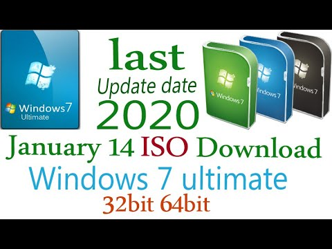 Windows 7 Ultimate  SP1 (2020) Windows 7 Free Download ISO File 64 Bit-32Bit- Last Update Windows