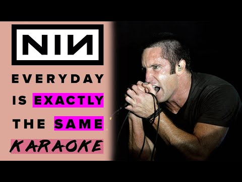 nine inch nails everyday is exactly the same karaoke