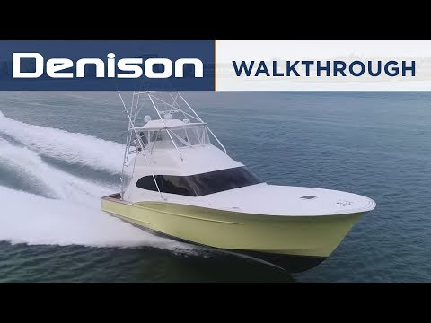 56 Freedom Carolina Sportfish Yacht [Walkthrough]