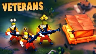 BEST UNITS in the GAME! Training UBER VETERANS! (Guns Up! Multiplayer Gameplay)