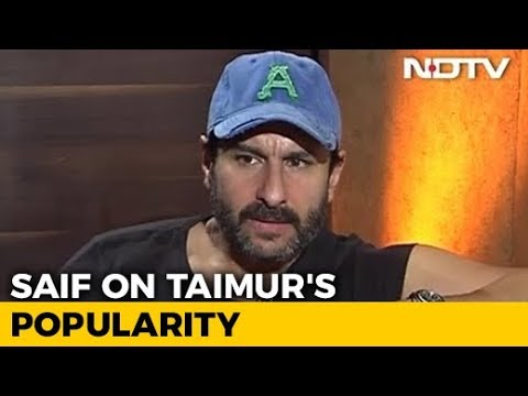 'He Knows There Are Cameras On Him': Saif On Taimur And Paparazzi