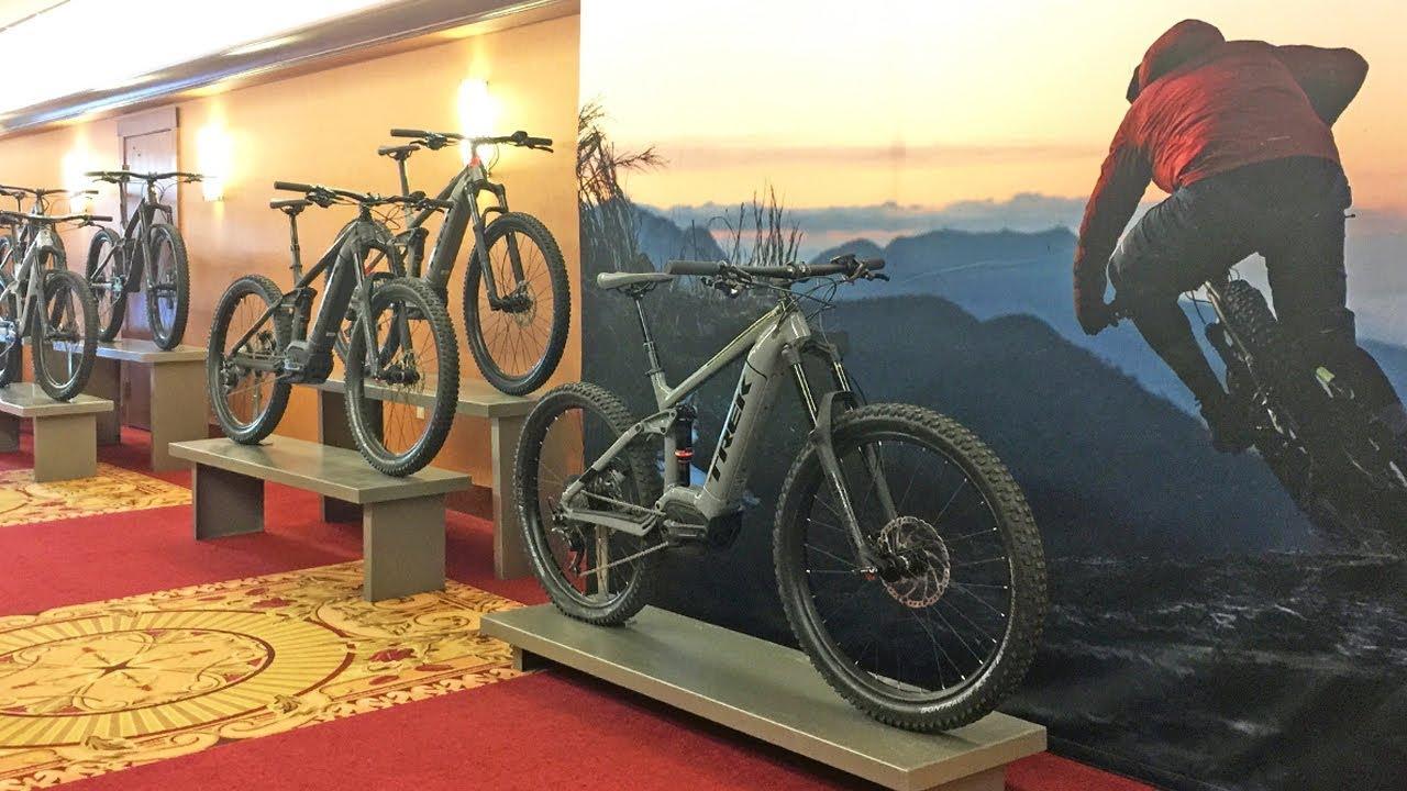 Electric Bikes Trek Bikes >> 2019 Trek Electric Bikes Powerfly Line Deep Dive
