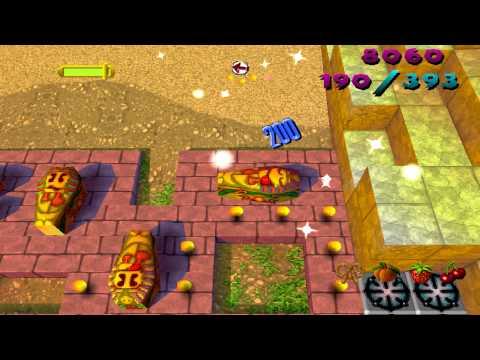 PSX Ms Pac Man Maze Madness Level 1