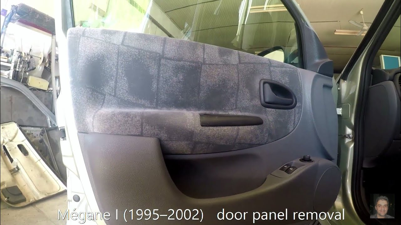 Renault M 233 Gane I 1995 2002 Door Panel Removal Youtube