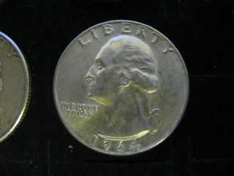 Silver Quarters 1959D 1960D 1961D 1962D 1963D 1964D