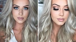 Prom/Debs Drugstore Makeup & Hair Tutorial | Chloe Boucher