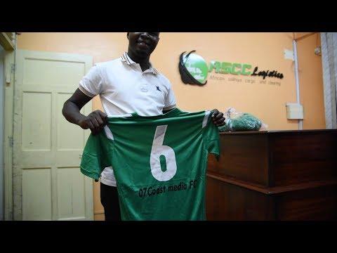 Logistics company donates uniforms to Coast Media FC