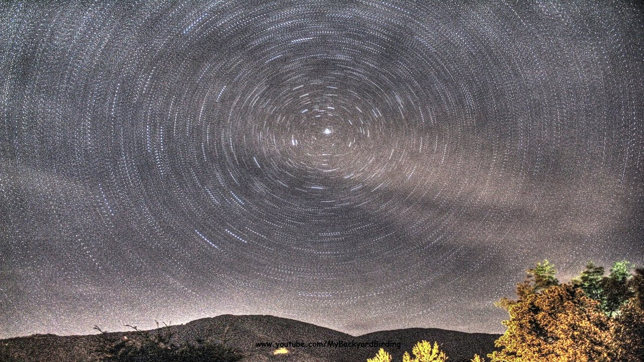 perseid meteor shower time lapse