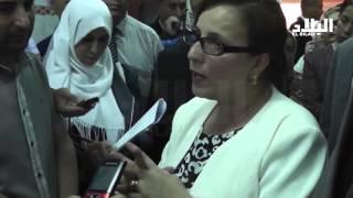 مونية مسلم / وزيرة التضامن الوطني والأسرة  وقضايا المرأة -EL BILAD TV -