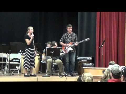 Stitches by Shawn Mendes, performed by Twin Valley Middle High School