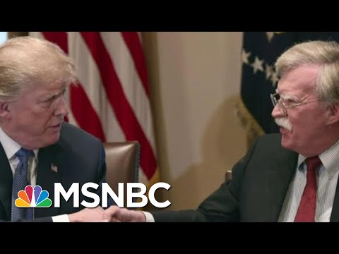 President Donald Trump Says He Hasn't Seen John Bolton Manuscript   MSNBC