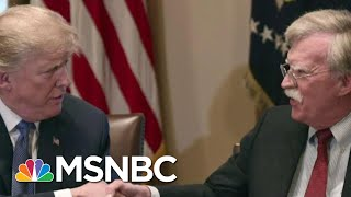President Donald Trump Says He Hasn't Seen John Bolton Manuscript | MSNBC