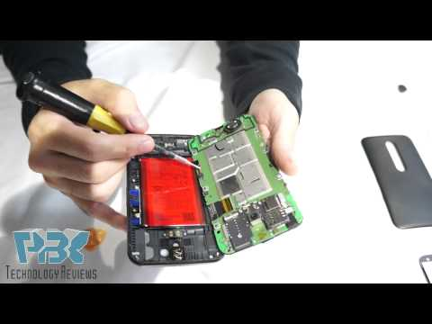 Motorola Moto G (3rd Gen) 3rd Generation 2015 Disassembly Teardown LCD Replacement