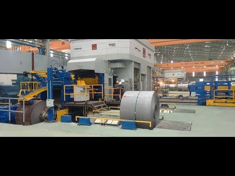 Commissioning Of Esmech Sms Cold Rolling Mill