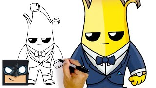 "How To Draw Agęnt Peely 🍌 NEW ""TOP SECRET"" Fortnite Season 2 Battle Pass"