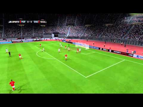 FIFA 14 Career mode International match England vs Peru Gameplay and Commentary